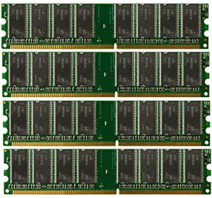 4GB (4x 1GB) Desktop Ram Memory Dell Dimension 4600 (MAJOR BRANDS)