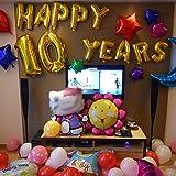"Helium Foil Digital balloons ,birthday holidays weddin party supply Golden 40""1"