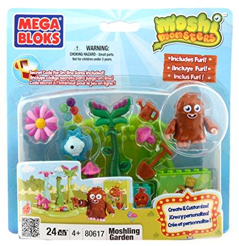 Moshi Monsters Mega Bloks Set # 80617 Giardino Moshling