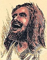 Original Laughing Jesus Print (12 x 16)
