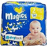 babies best Magics Premium 2.0 Windeln Gr.2 Mini 3-6 kg, 102 Windeln