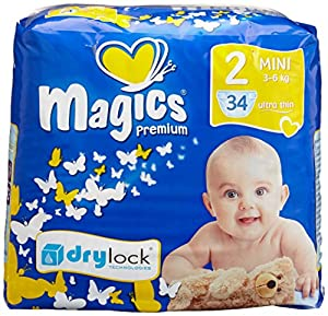 babies best Magics Premium 2.0 Windeln Gr.2 Mini 3-6 kg, 102 Windeln