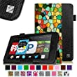Fintie Fire HD 6 Tablet (2014 Oct Release) Case Slim Fit Standing Protective Cover with Auto Sleep/Wake Feature (will only fit Amazon Kindle Fire HD 6-Inch Tablet 2014 Release), Stained Glass Mosaic