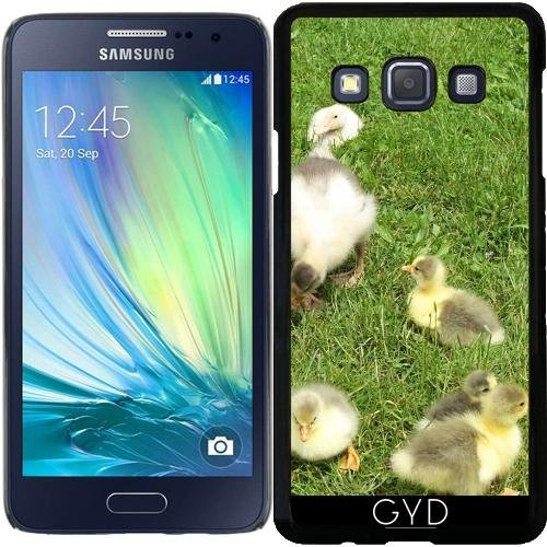 Custodia per Samsung Galaxy A3 (SM-A300) - Cuccioli Carino, Piccole Anatre by Marina Kuchenbecker