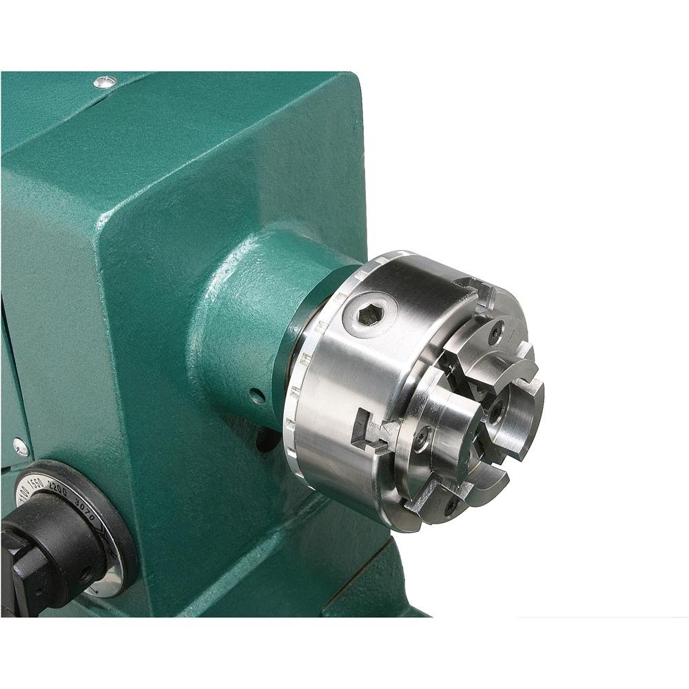 Grizzly H6266 4 Jaw Wood Chuck 1-Inch by 12 TPI three jaw chuck 50mm manual metal lathe chuck 3 jaw self centering chuck for mini lathe with two lock rods