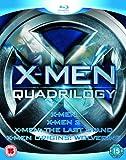 X-Men Quadrilogy - X-Men, X-Men 2, X-Men: The Last Stand, X-Men Origins: Wolverine [Blu-ray] - Bryan Singer