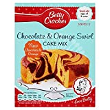 Betty Crocker Cake Mix Chocolate & Orange Swirl (435g)