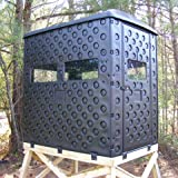 Snap Lock Formex 4 x 6 Portable Interlocking Deer Hunting Blind w/ Windows