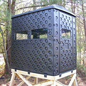 Snap Lock Formex 4 x 6 Portable Interlocking Deer Hunting Blind w  Windows by Snap Lock