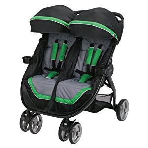 Graco Fastaction Fold Duo Click Connect Stroller, Fern