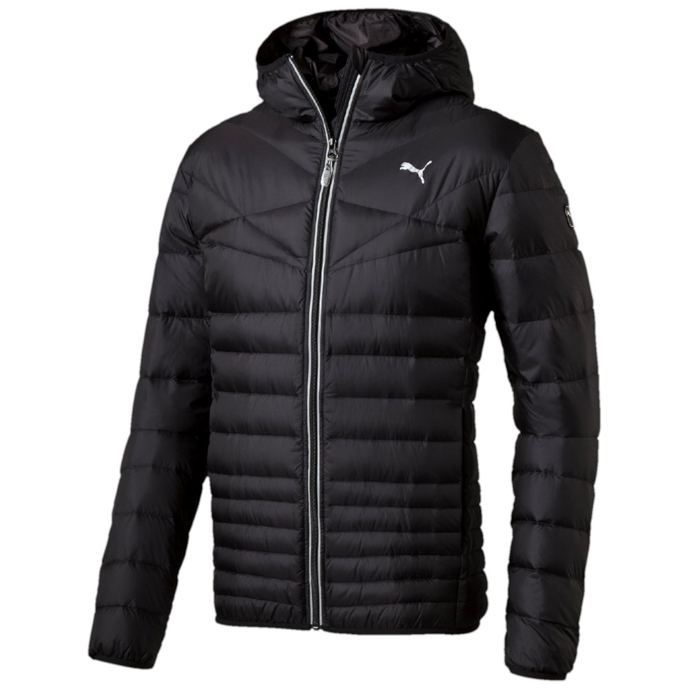 PUMA Herren Jacke Active 600 Packlight Hooded Down Jacket M, Black, XL, 833822 01