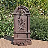 Standbrunnen WZS6 Wasserzapfstelle Wandbrunnen Design Antik für Garten Zapfstelle