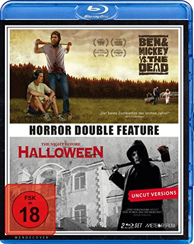 Double Horror Feature: Ben & Mickey vs. The Dead - The Night Before Halloween (Blu-Ray) [HD DVD]