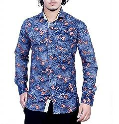 Bucci Men's Casual Shirt _bc102_Grey_L