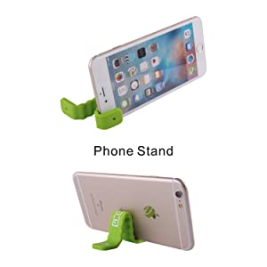3 Pack Multi-Function Magnetic Silicone Band Durable Reusable Cable Tie/Smartphone Stand/Earbud Holder/Fridge Magnets/Money Clips/Bookmark/Hanger Orga