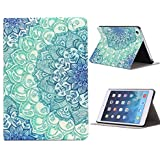 Malloom® Floral Pattern Flip PU Leather Case Cover for iPad Mini 1 2 3 Retina