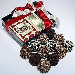 Chocolate Decadence Dessert Truffles (12-piece) Gift Box 1.8lbs