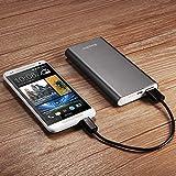 EasyAcc® 8200mAh モバイルバッテリー USBポート 携帯充電器 各種のスマホ(マルチデバイス)Samsung Galaxy S3 S4 note3、HTC One Mini、Google Nexus 5、Nokia Lumia 520 1020、LG G 2 ; iPhone 5 5S 4S、iPod、Bluetoothヘッドセット、Google Glass等対応、カラー:グレー