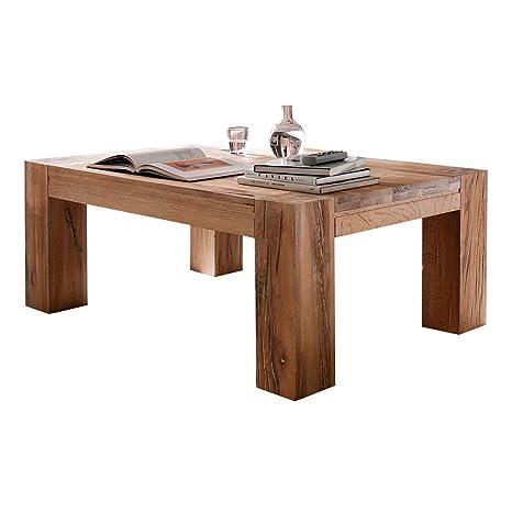 Couchtisch Wohnzimmertisch Braxton, 120x70 cm, Massivholz Holz Eiche massiv natur geölt