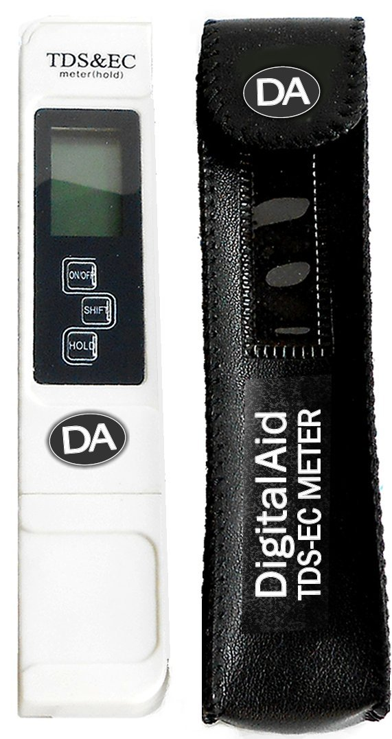 Digital Aid® Best Water Quality Test Meter. Professional TDS, EC and Temperature Meter