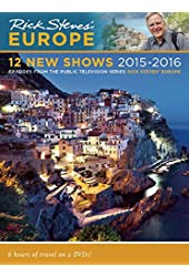Rick Steves Europe: 12 New Shows DVD 2015–2016