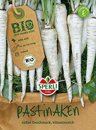Image of Gemüsesamen - Bio-Pastinaken Bio-Saatgut von Sperli-Samen