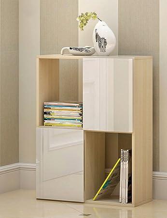 TH Scaffale da esposizione semplice Espositore da terra Combinazione Libreria Scaffale da scaffale Libreria piccola libreria creativa ( dimensioni : 2-tier )