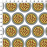 Premium Gift Wrap Wrapping Paper Roll Food Drink Bacon Coffee - Pizza