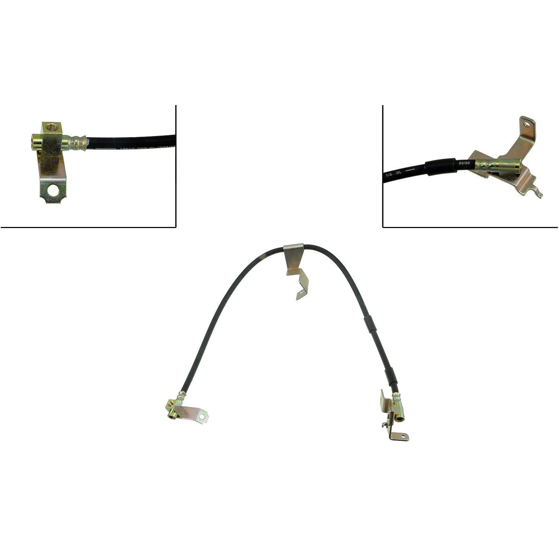 Dorman H381058 Hydraulic Brake Hose universal braided steel hydraulic brake clutch oil hose line pipe 500mm 1500mm incredibly light clutch brake hydraulic hose 2017