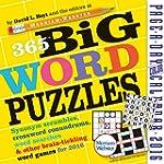 365 Big Word Puzzles (2016 Calendar)