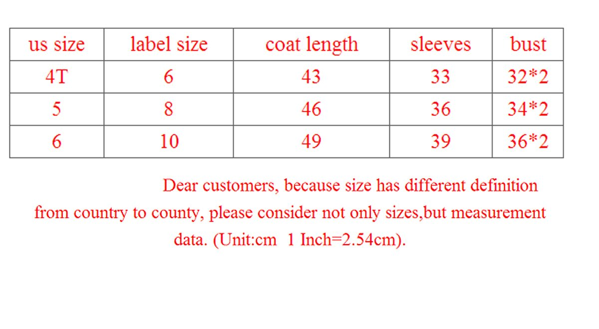 SOPO Baby Girl Winter Jacket Thick Cotton-Padded Flower Hood Coat Outerwear 4-6Y