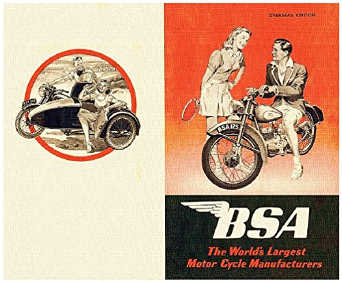 bsa-brochure-1949-the-worlds-largest-motor-cycle-manufacturers-english-edition