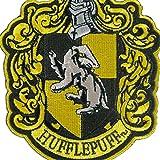 "Harry Potter House of Hufflepuff Hogwarts Crest Patch 4 3/4"""