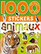 1000 stickers animaux