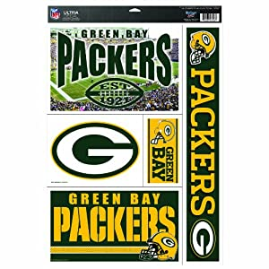 NFL Green Bay Packers 11-by-17 Ultra Decal Multiple Designs by WinCraft