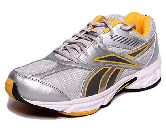 Reebok Men's V49026 -Silver And Grey Running Shoes - 7 Uk at amazon