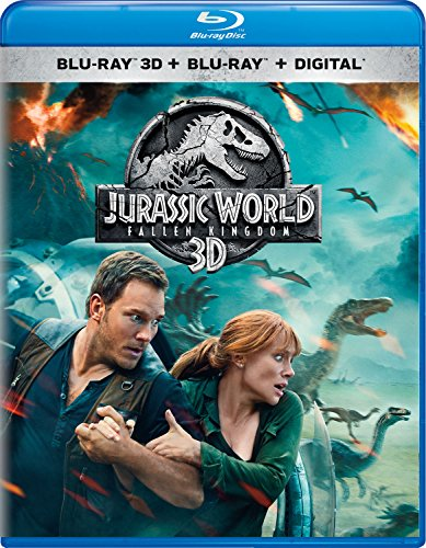 Blu-ray 3D : Jurassic World: Fallen Kingdom (With Blu-ray, 2 Pack, 3 Dimensional, 2PC)