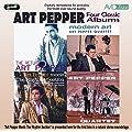 Four Classic Albums: The Return of Art Pepper / Modern Art / Art Pepper Meets the Rhythm Section / The Art Pepper Quartet