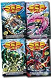 img - for Sea Quest Series Collection Adam Blade 4 Books Set (5 to 8) (Mangler - The Dark Menace, Crusher - The Creeping Terror, Stinger - The Sea Phantom, Shredder - The Spider Droid) book / textbook / text book