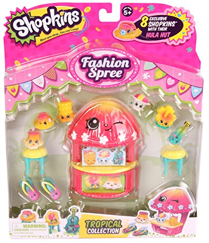 Shopkins S4 Tropical Fashion Pack Collection JungleDealsBlog.com