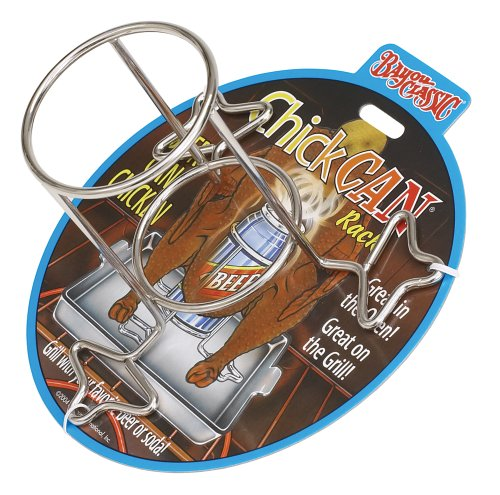 Bayou Classic 0440-Pdq Beercan Chickcan Rack