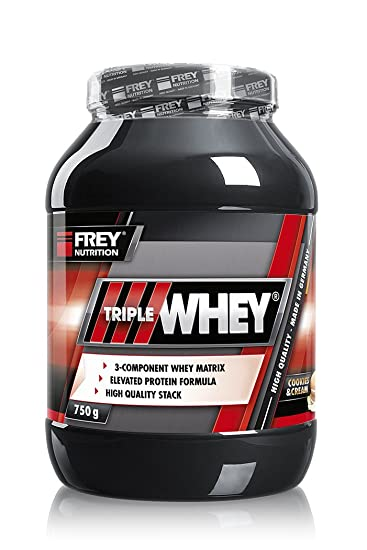 Frey Nutrition Whey Protein Dose Cookies & Cream, 1er Pack (1 x 750 g)