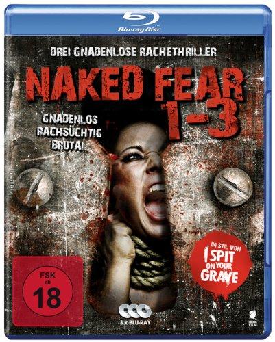 Naked Fear 1-3 - Drei gnadenlose Rachethriller in einer Box (3 Blu-rays)