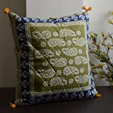 Block Print Cotton Cushion Cover(Set Of 5)