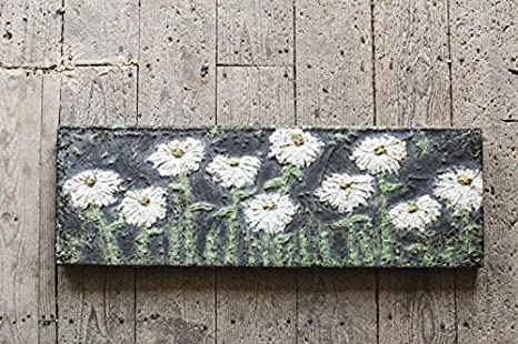 Embossed Metal Wall Art Embossed Metal Floral Wall