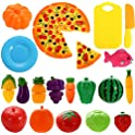 ThinkMax Acefun 24Pcs Pretend Play Food Set