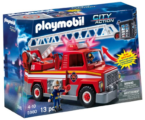 PLAYMOBIL-Rescue-Ladder-Unit