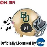 Nima Athletics NCAA Football Baylor Bears Wireless Bluetooth Speaker. Officially Licensed Portable Helmet Speaker by NCAA College Football - Small