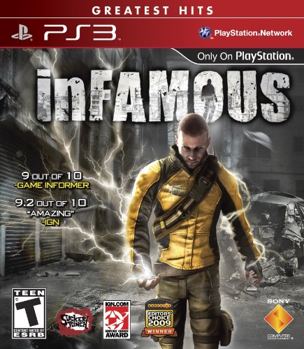 Infamous - Playstation 3 front-1006596