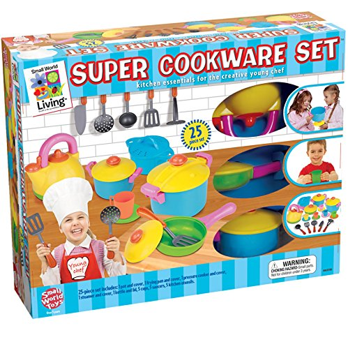 Small World Toys Living - Young Chef's Super Cookware 25 Pc. Playset